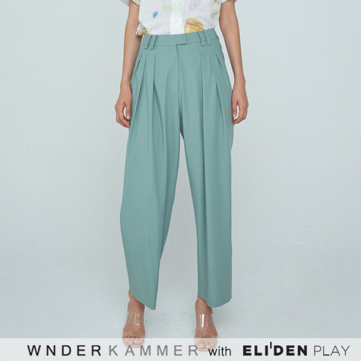 ZIGZAG WIDE TROUSERS