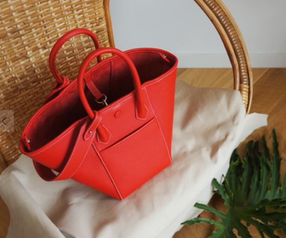 HEXIE BAG M_ cherry red