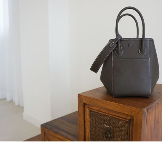 HEXIE BAG M_ dark brown