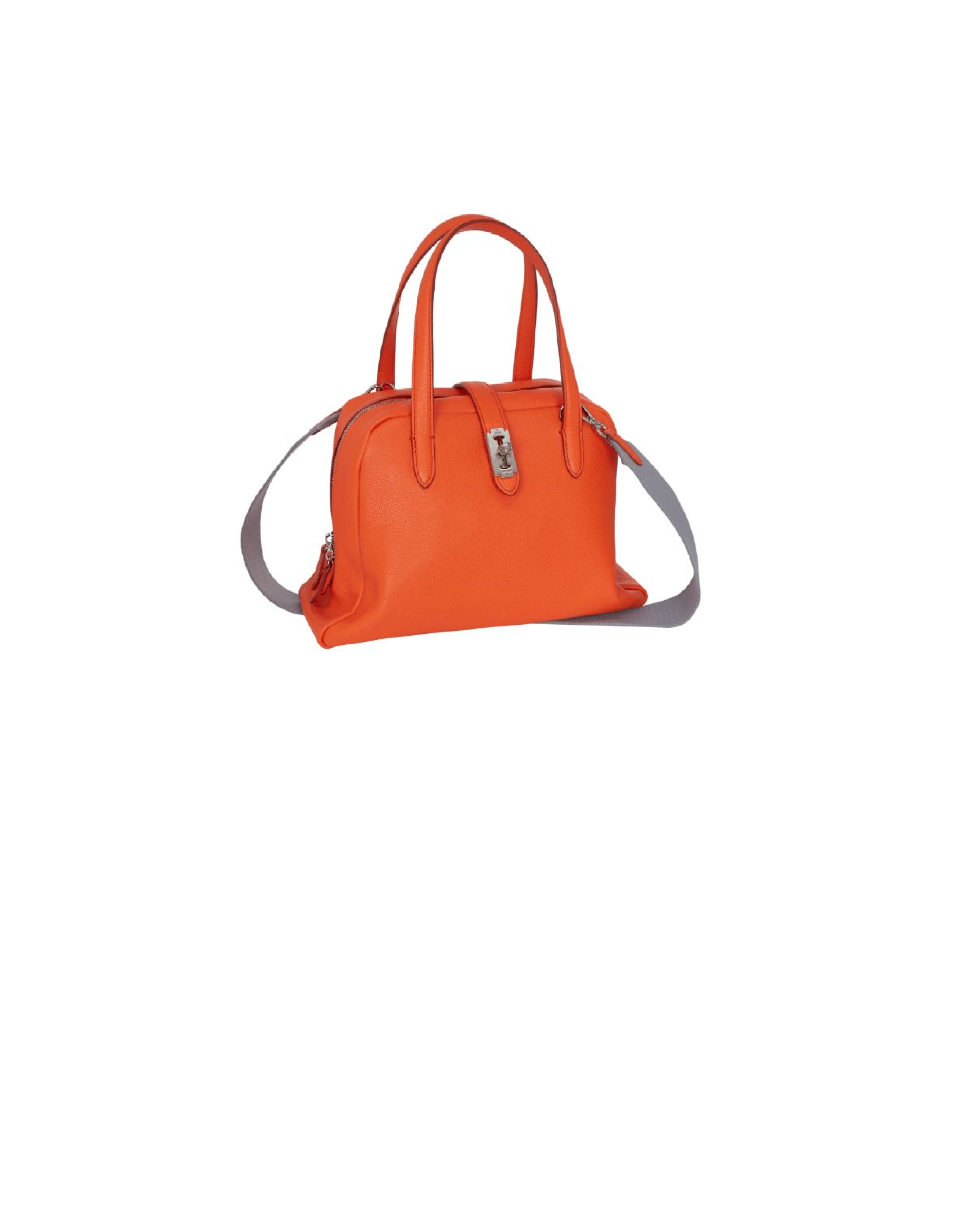 Toque tote M (토크 토트 미듐) Bright orange_VQB01TO2031