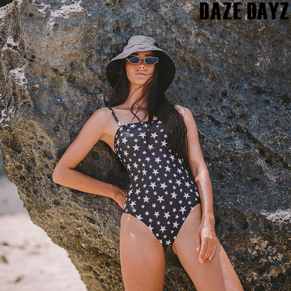 STARRY NIGHT TUBE ONE-PIECE